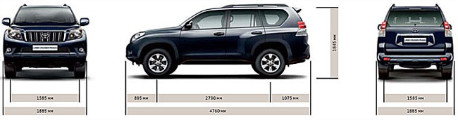 ���������� ������� Toyota Land Cruiser Prado